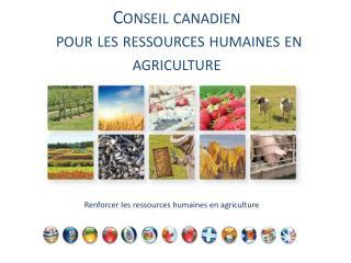 Conseil canadien  pour les ressources humaines en agriculture