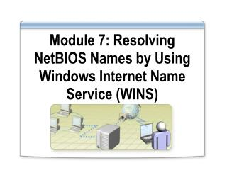 Module 7: Resolving NetBIOS Names by Using Windows Internet Name Service (WINS)