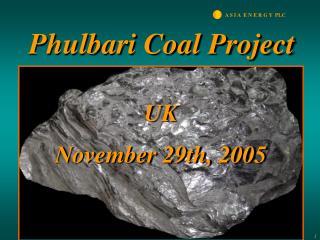 Phulbari Coal Project