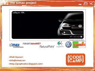 <Iñaki Ayucar> <info@simax.es> <http://graphicdna.blogspot.com>
