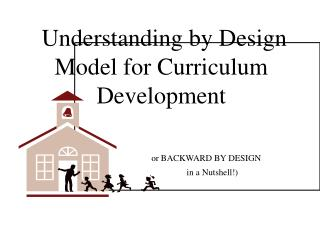 Understanding by Design Model for Curriculum Development or BACKWARD BY DESIGN