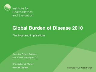 Global Burden of Disease 2010