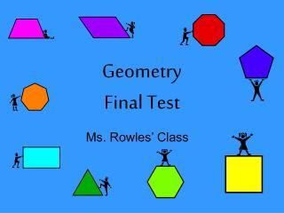 Geometry  Final Test