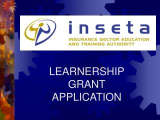 LEARNERSHIP GRANT APPLICATION
