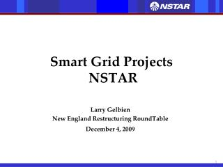 Smart Grid Projects  NSTAR