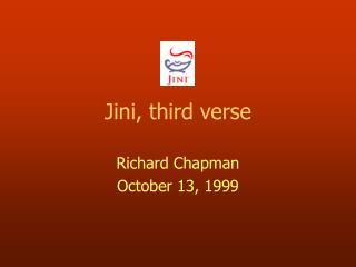 Jini, third verse