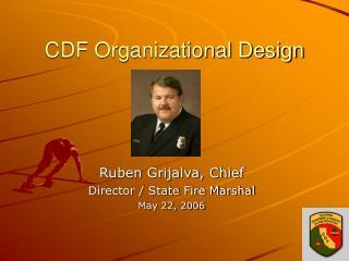 CDF Organizational Design