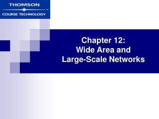 Chapter 12:  Wide Area and  Large-Scale Networks