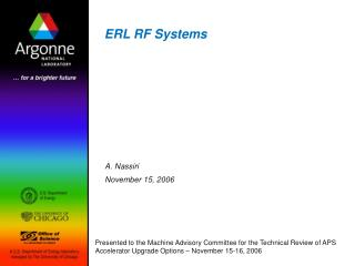 ERL RF Systems