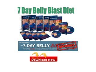 7 Day Belly Blast Diet review