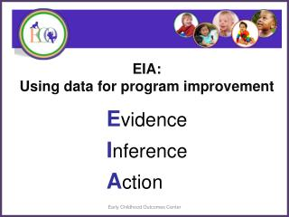 EIA:  Using data for program improvement