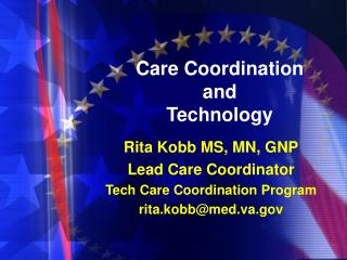 Care Coordination and  Technology