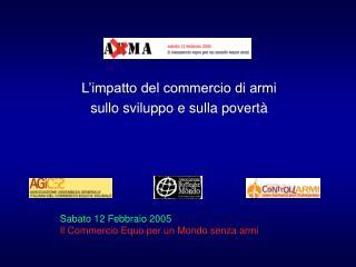 L'impatto del commercio di armi sullo sviluppo e sulla povertà