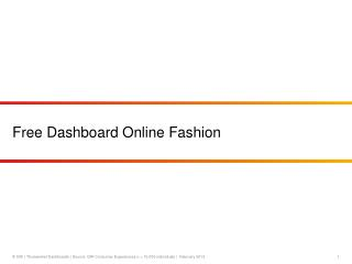 Free Dashboard Online Fashion