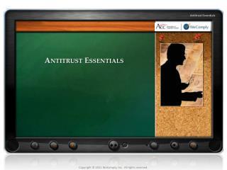 Antitrust Essentials