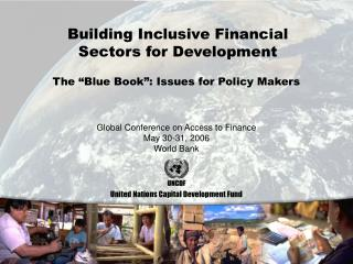 Building Inclusive Financial Sectors for Development