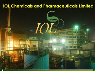 IOL Chemicals and Pharmaceuticals Limited