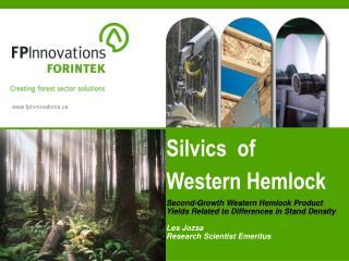 Silvics  of  Western Hemlock