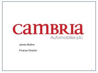 James Mullins Finance Director