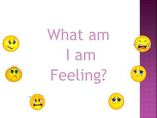 What am  I am  Feeling?