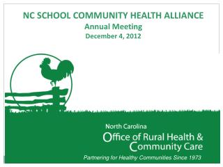 Partnering for Healthy Communities Since 1973