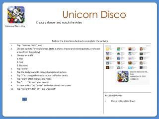 Unicorn Disco