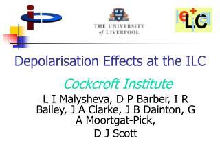 Depolarisation Effects at the ILC