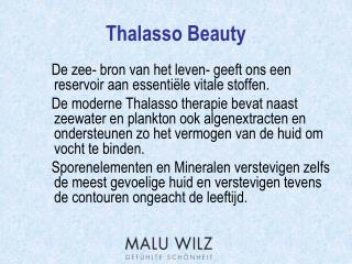 Thalasso Beauty