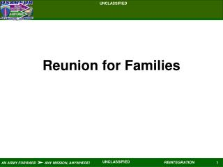 Reunion for Families