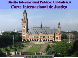 Direito Internacional Público: Unidade 6.4 Corte Internacional de Justiça