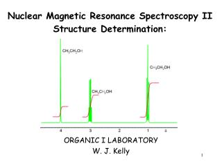 Nuclear Magnetic Resonance Spectroscopy II Structure Determination: