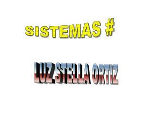 SISTEMAS #