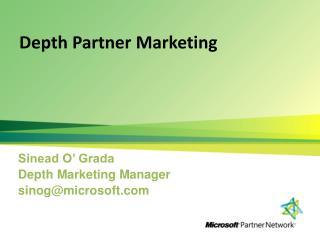 Depth Partner Marketing