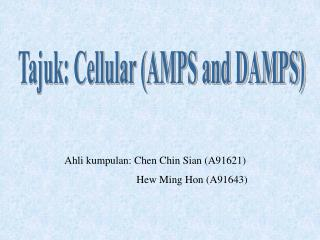 Ahli kumpulan: Chen Chin Sian (A91621)    Hew Ming Hon (A91643)