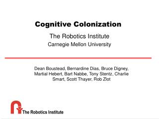 Cognitive Colonization
