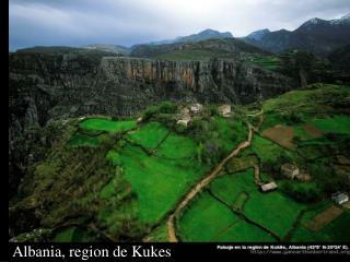Albania, region de Kukes