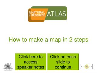 How to make a map in 2 steps