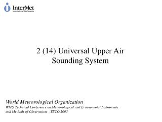 2 (14) Universal Upper Air Sounding System