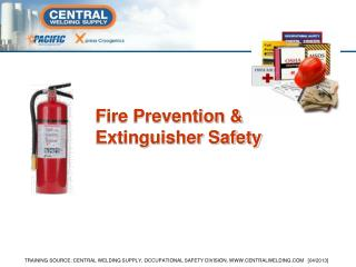 Fire Prevention & Extinguisher Safety