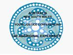 AUSTRALIA NEW SOUTH WALES  YOUTH JUSTICE CONFERENCING