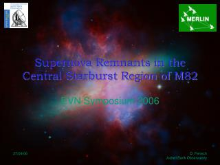 Supernova Remnants in the Central Starburst Region of M82