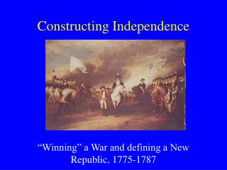 Constructing Independence