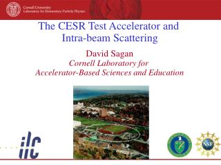 The CESR Test Accelerator and  Intra-beam Scattering