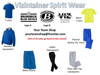Visintainer  Spirit Wear