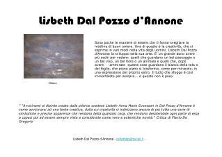 Lisbeth Dal Pozzo d'Annone