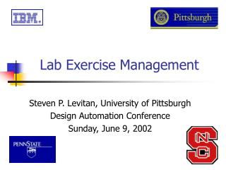 Lab Exercise Management