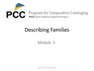 Describing Families