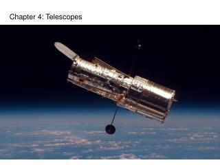 Chapter 4: Telescopes