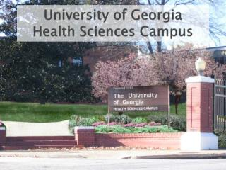 University of Georgia Health Sciences Campus