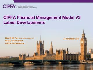 CIPFA Financial Management Model V3 Latest Developments